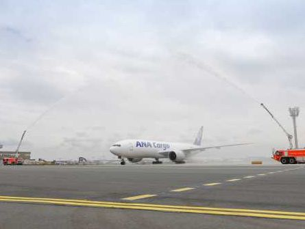 ANA Cargo launches maiden B777F to Frankfurt