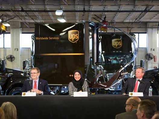 UPS to handle logistics operations for World Expo 2020