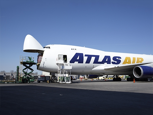 Atlas Air Worldwide places three 747-400Fs with Hong Kong Air Cargo