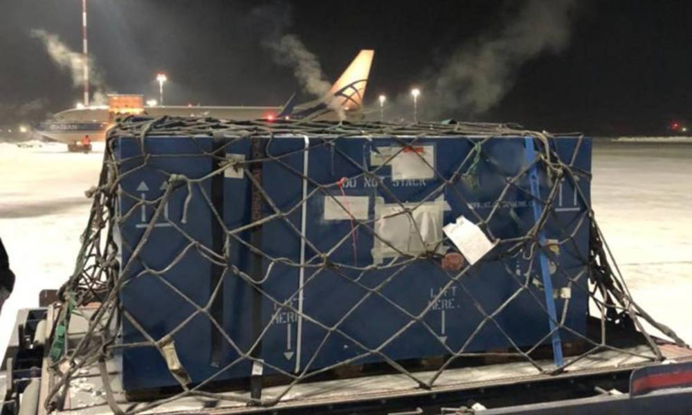 They transported two aircraft Pratt & Whitney engines, PW123 for Bombardier Q-300, weighing 1,520 kilo in total were transported for MRO services.