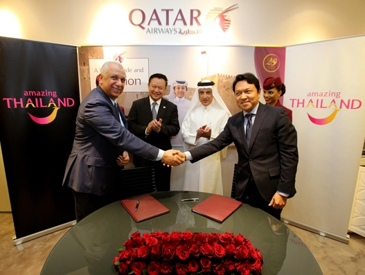 Qatar Airways to increase frequency to Bangkok from June this year