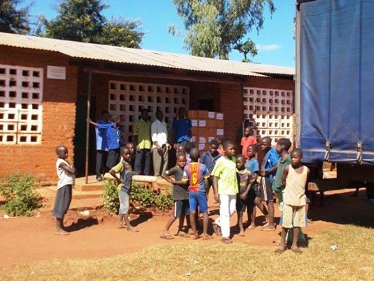 Bolloré Logistics delivers school supplies to 5,415 schools in Malawi