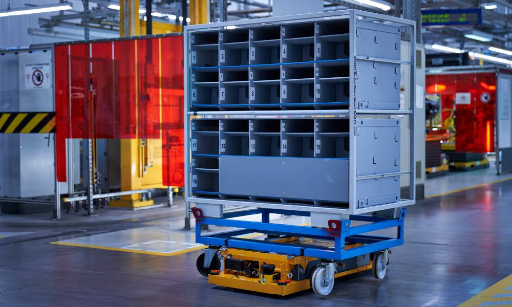 BMW Group starts IDEALworks GmbH to develop robotic solutions for logistics