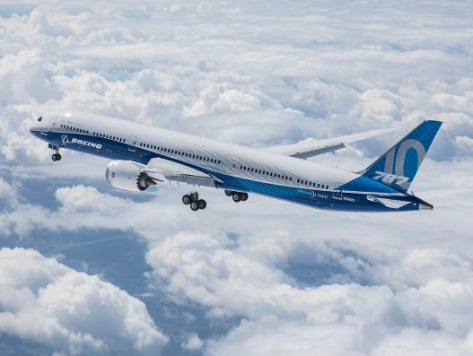 Boeing's newest Dreamliner aircraft completes first flight