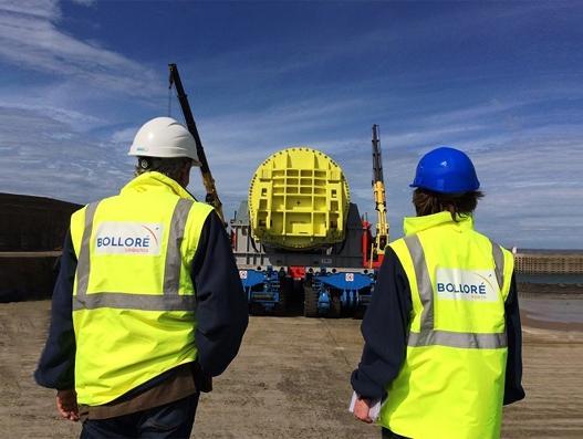 Bolloré Logistics handles oversized shipment for the Flamanville nuclear power plant