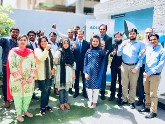 Bollore Logistics Pakistan inaugurates its new Karachi head office