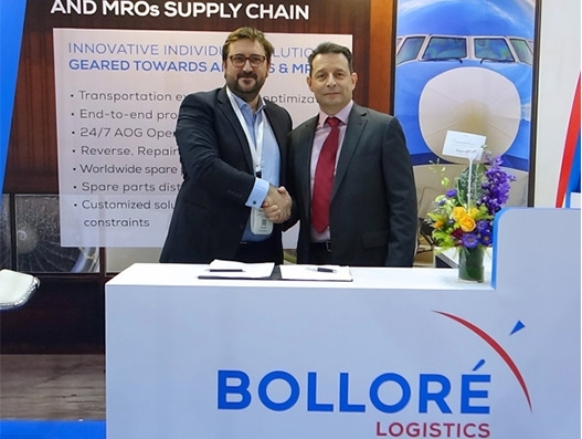 Bollore Logistics Singapore and Aviation Partner and Consulting extend their partnership