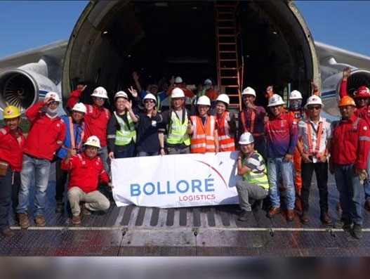 Bollore Logistics Singapore completes time-critical transport from Batam to Angola