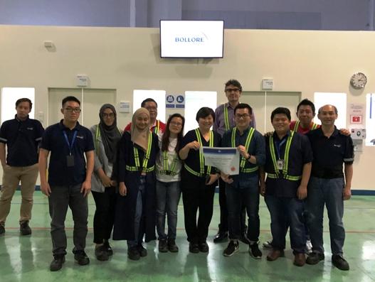 Bolloré Logistics Singapore receives pharma certification from IATA
