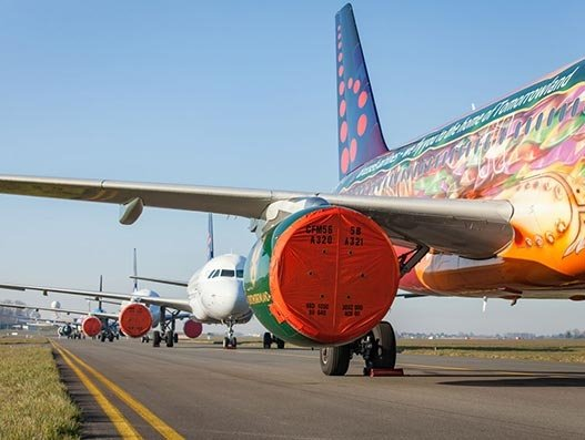 Brussels Airlines prepares fleet for hibernation