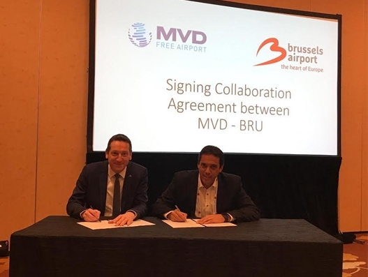 Brussels Airport and MVD Free Airport sign MoU for cooperation