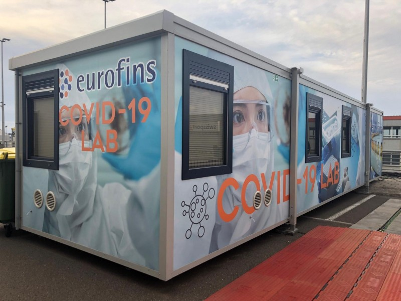 Brussels Airport starts operations for mobile Covid-19 laboratory