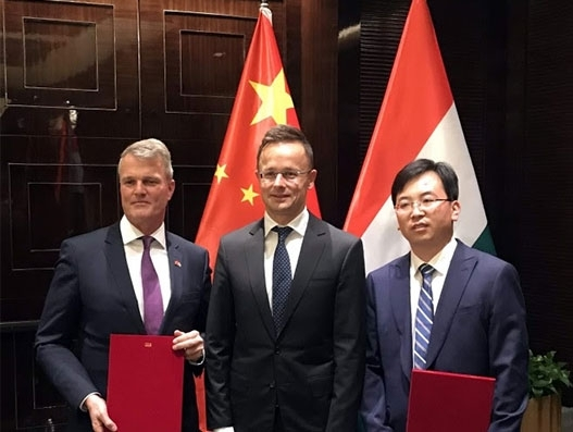Budapest Airport signs MoU with two major Chinese hubs