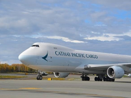 Cathay Pacific cargo volume drops 9.1% in June