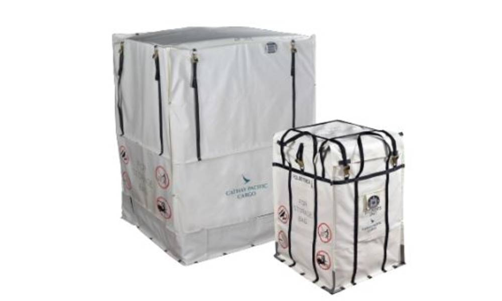 Cathay Pacific Cargo launches supersize Skid Fire Containment Bag in India