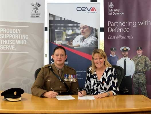 CEVA Logistics pushes for ex-military employment in the UK