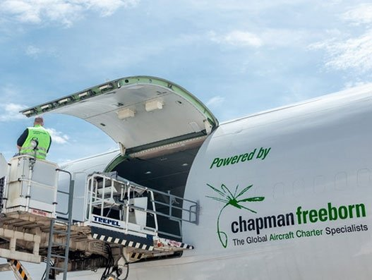 Chapman Freeborn reports surge in cargo charters