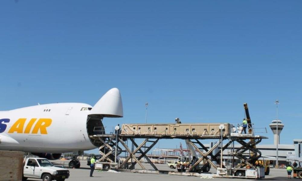 Chapman Freeborn transports 92-tonne industrial equipment cargo to Australia