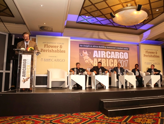 """Saudia Cargo hosts """"Flower & Perishables"""" Air Shippers Forum at the 4th Air Cargo Africa 2017"""
