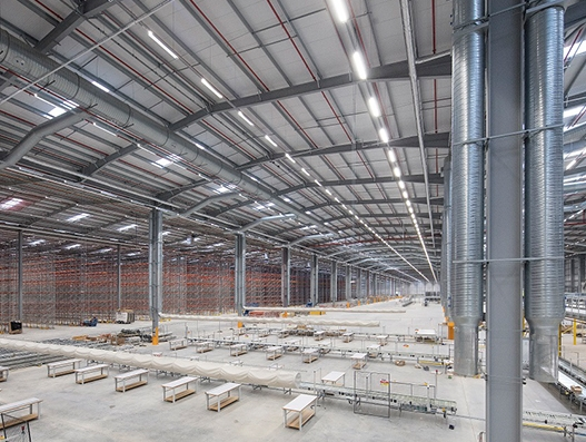 Construction of Amazon's £100 million logistics facility in Doncaster completes