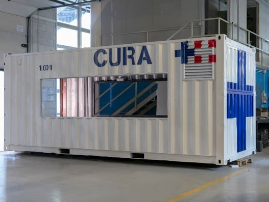 From Covid-19 Issue:  Containers for containment