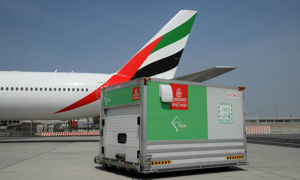Covid-19: How Emirates SkyCargo is helping maintain the global food supply chain