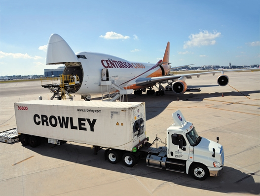 Miami Airport completes first ocean-to-air perishables trans-shipment