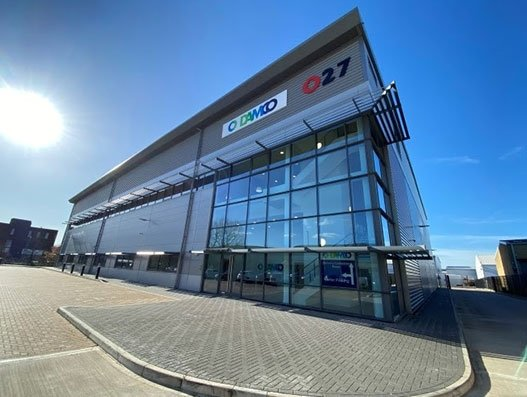 DAMCO works towards trimming carbon footprint with new energy-efficient warehouse