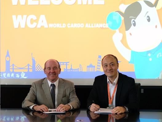WCA collaborates with Alibaba for cross-border e-commerce shipments