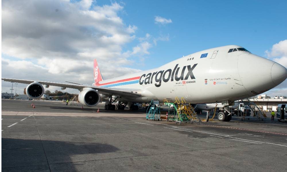 DB Schenker, Cargolux start weekly Indiana charter for pharma shipments