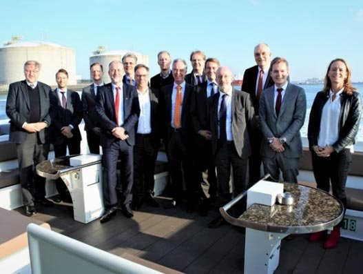 Decarbonisation plan in Port of Rotterdam inspires confidence in delegation