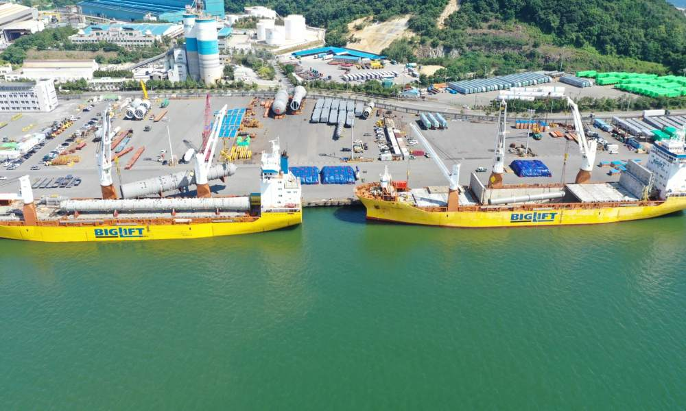 deugro successfully moved cargo for the Irkutsk Polymer Plant Project