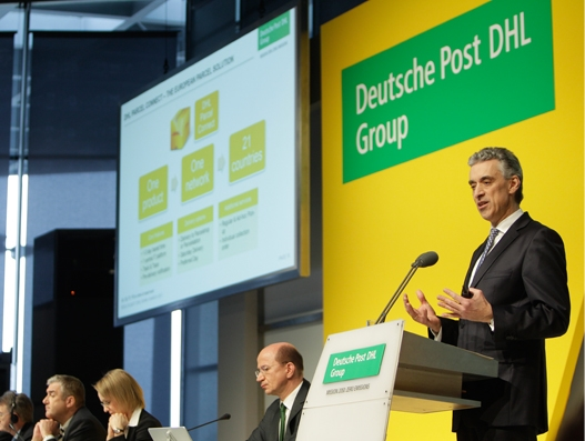 Deutsche Post DHL Group reports record earnings for 2016; eyes zero emission logistics by 2050