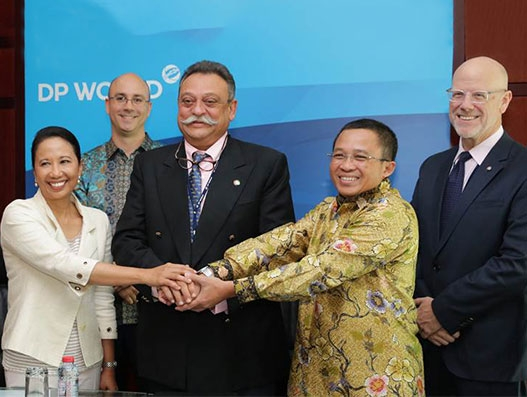 DP World and Indonesian government sign agreement to develop port and logistics zone