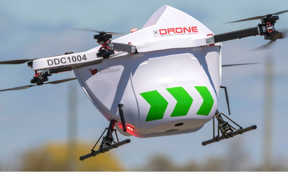 Drone Delivery Canada inks multiple agreements for drone deliveries at Edmonton International Airport