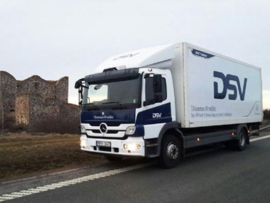DSV tests hybrid trucks in Sweden