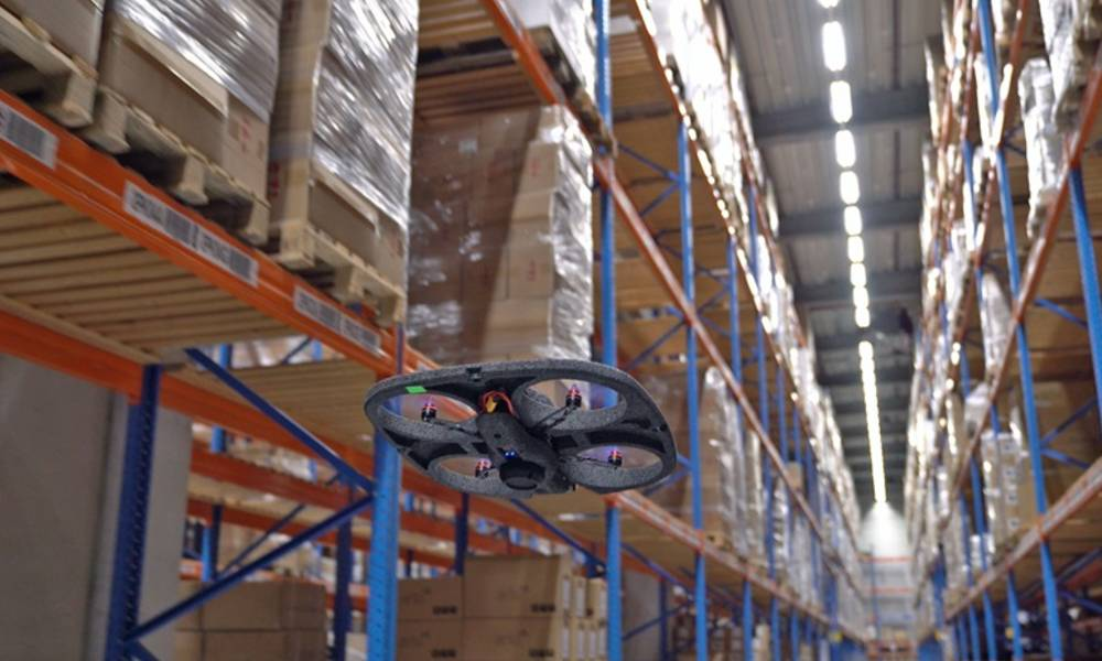 DSV improves warehouse operations with new drone system