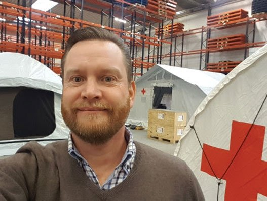 DSV to provide new warehouse for Danish Red Cross for disaster relief equipment