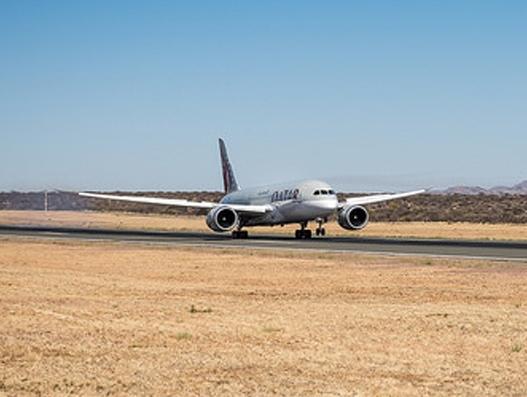 Qatar Airways inaugural flight lands at Dublin Airport