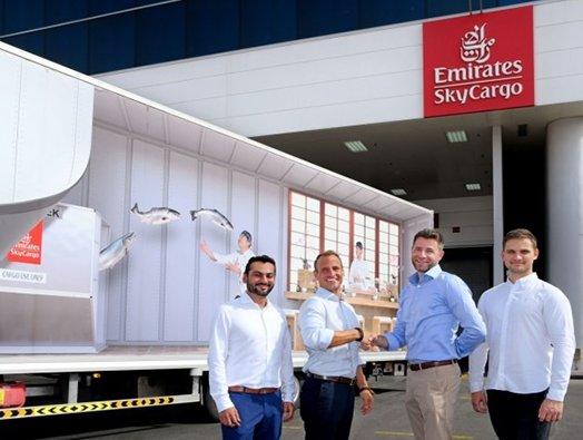 Emirates SkyCargo partners with Dubai start-up Seafood Souq