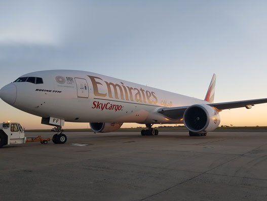 Emirates SkyCargo carries 850 tonnes cherries in 9 B777Fs from Santiago to East Asia