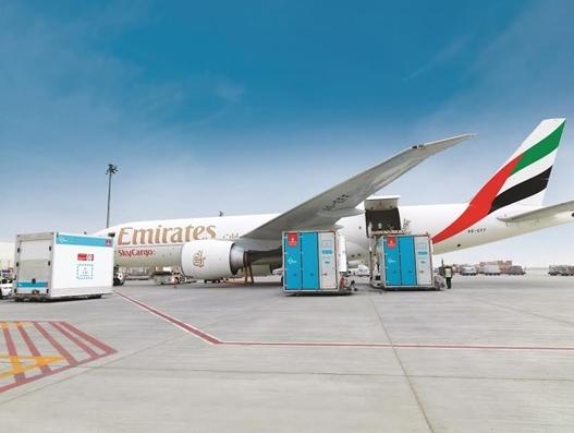 Emirates SkyCargo says it's been a busy summer season transporting perishables, pharma