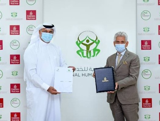 Emirates SkyCargo signs humanitarian logistics MoU with International Humanitarian City