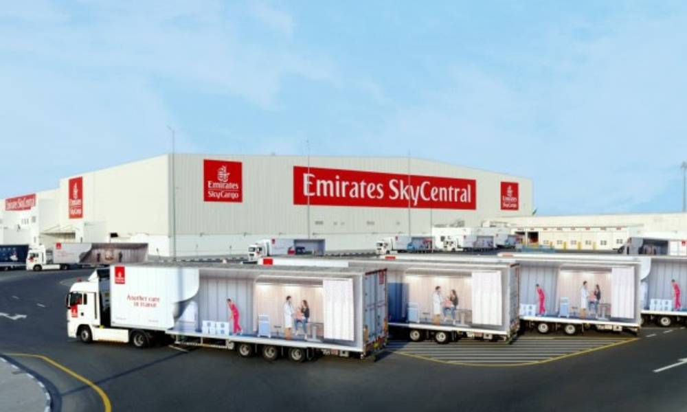 Emirates SkyCargo to set up world's largest air cargo hub in Dubai for global vaccine distribution