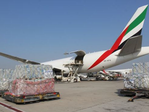 Emirates delivered relief supplies to Burkina Faso from IHC