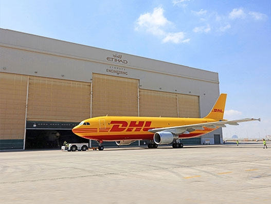 Etihad Airways Engineering partners with DHL to enhance MRO logistics