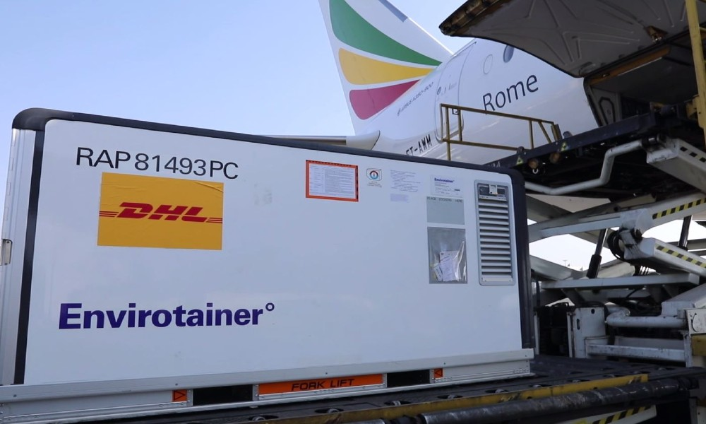 Ethiopian Airlines flies more than 1 million vaccine doses from Beijing to Harare