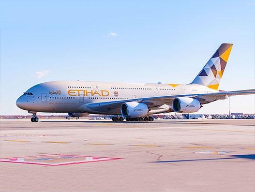 Etihad Airways introduces A380 along Abu Dhabi-Paris route