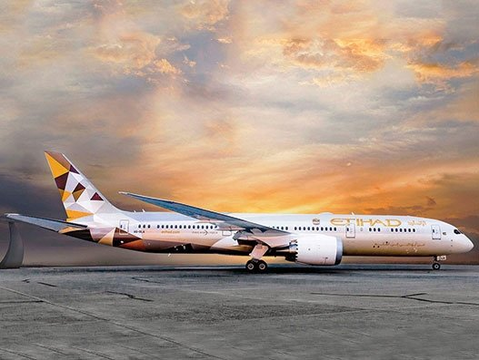 Etihad Airways suspends all passenger flights from March 26