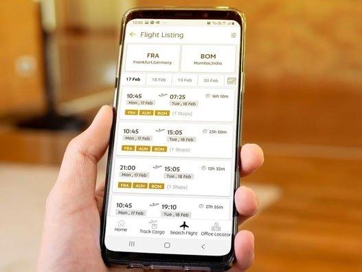 Etihad Cargo launches mobile app